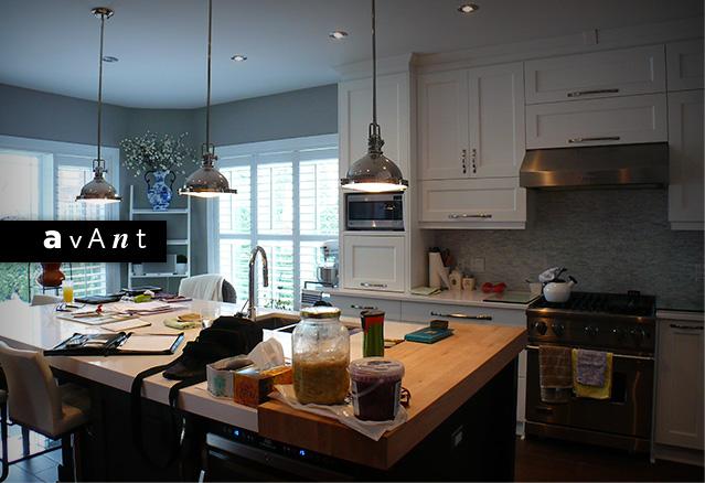 cuisine avant le ménage