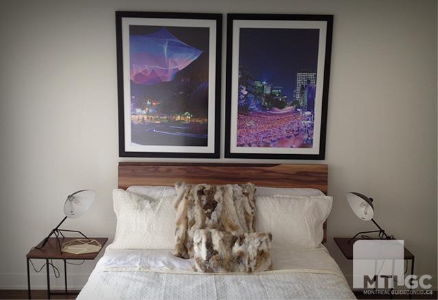 Montcalm chambre à coucher