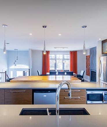 la cuisine qu'il faut regarder quand on achete une maison