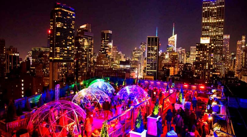 Terrasse Igloo New York