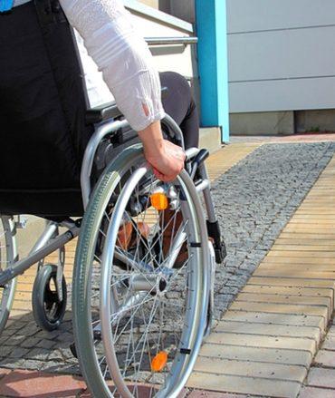 rampe d'accès fauteuil