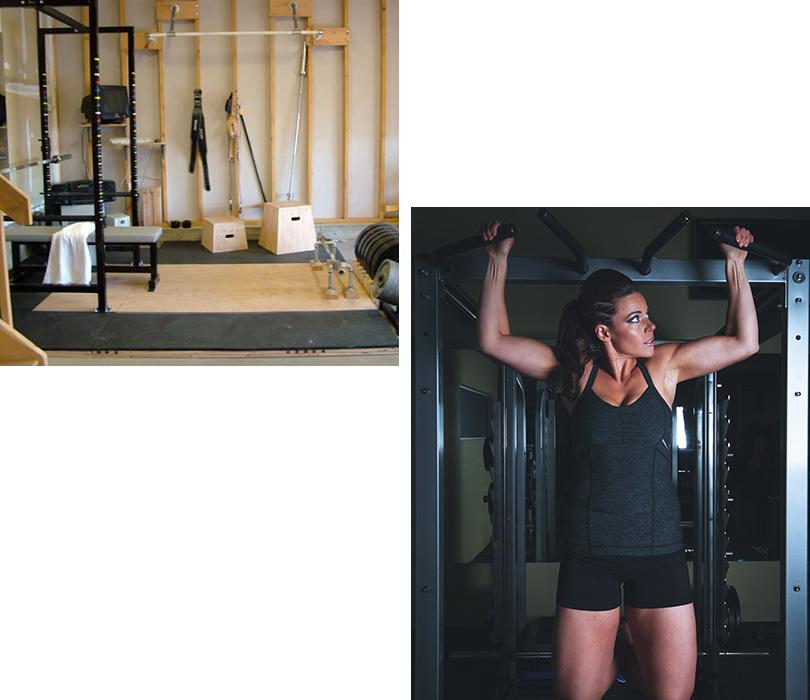 espace gym dans la maison