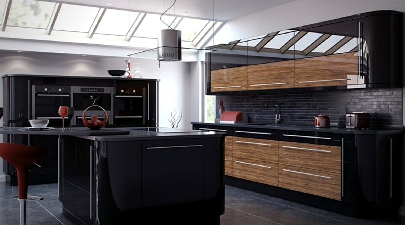 cuisine design noir
