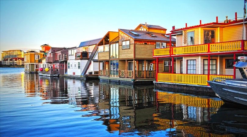 maison flottante Fisherman's Wharf