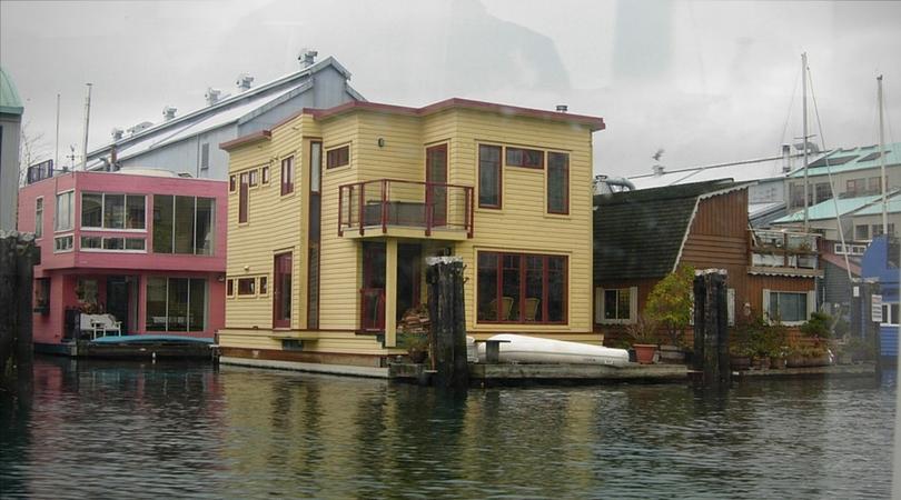 maison flottante Granville Island