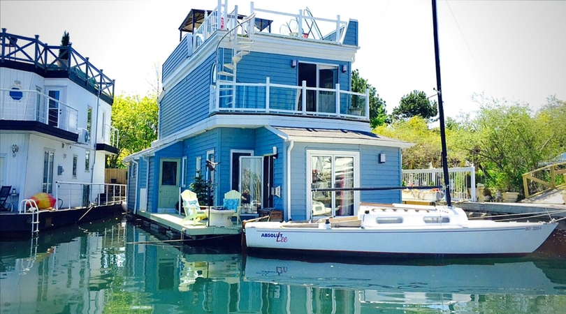 maison flottante Bluffer's Park