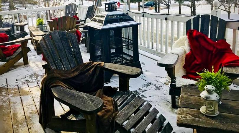 6 cafés à découvrir en région C'est la vie Café terrasse en hiver