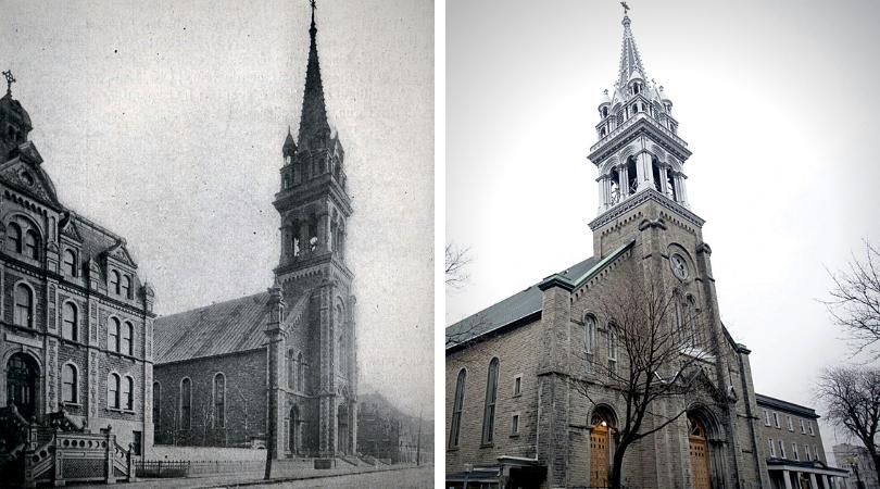 Histoire du centre sud l'église sainte-brigide-de-kildare
