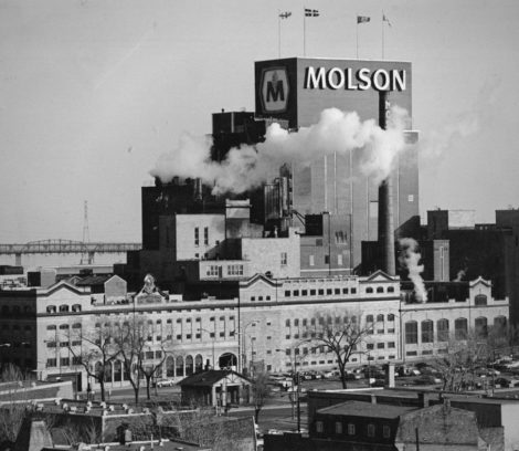 histoire du centre sud la brasserie Molson
