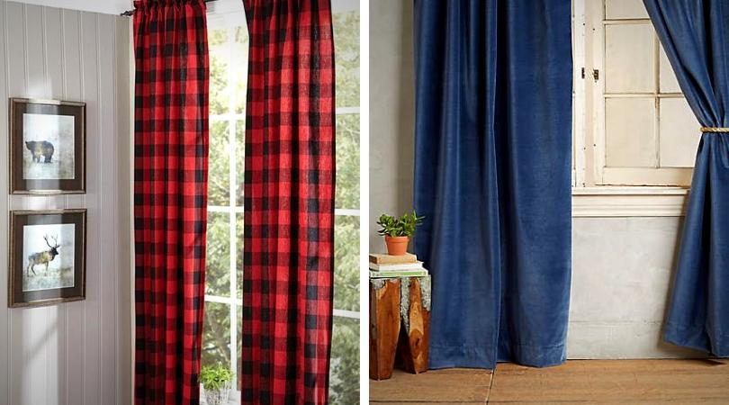 conseils de déco d'automne changer l'habillage de fenetre pour des rideaux chaleureux