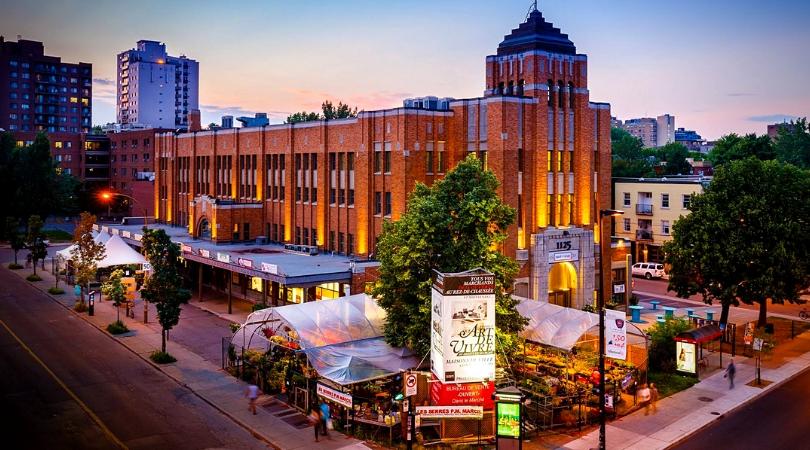 histoire du centre sud le marché saint-jacques condos Europa