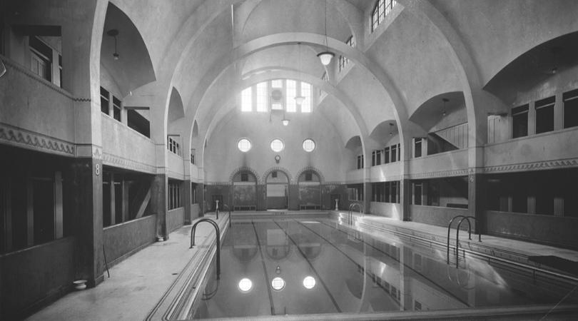 Histoire du centre sud la piscine du bain généreux