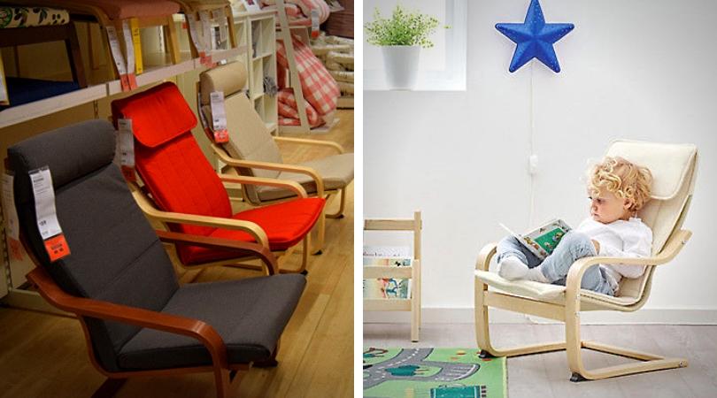 chaise poang ikea différents modèles