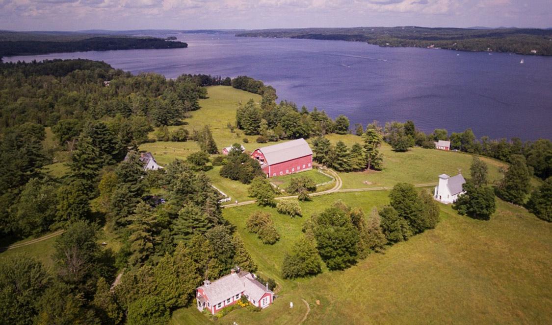 Lac Memphrémagog - Domaine exceptionnel à vendre