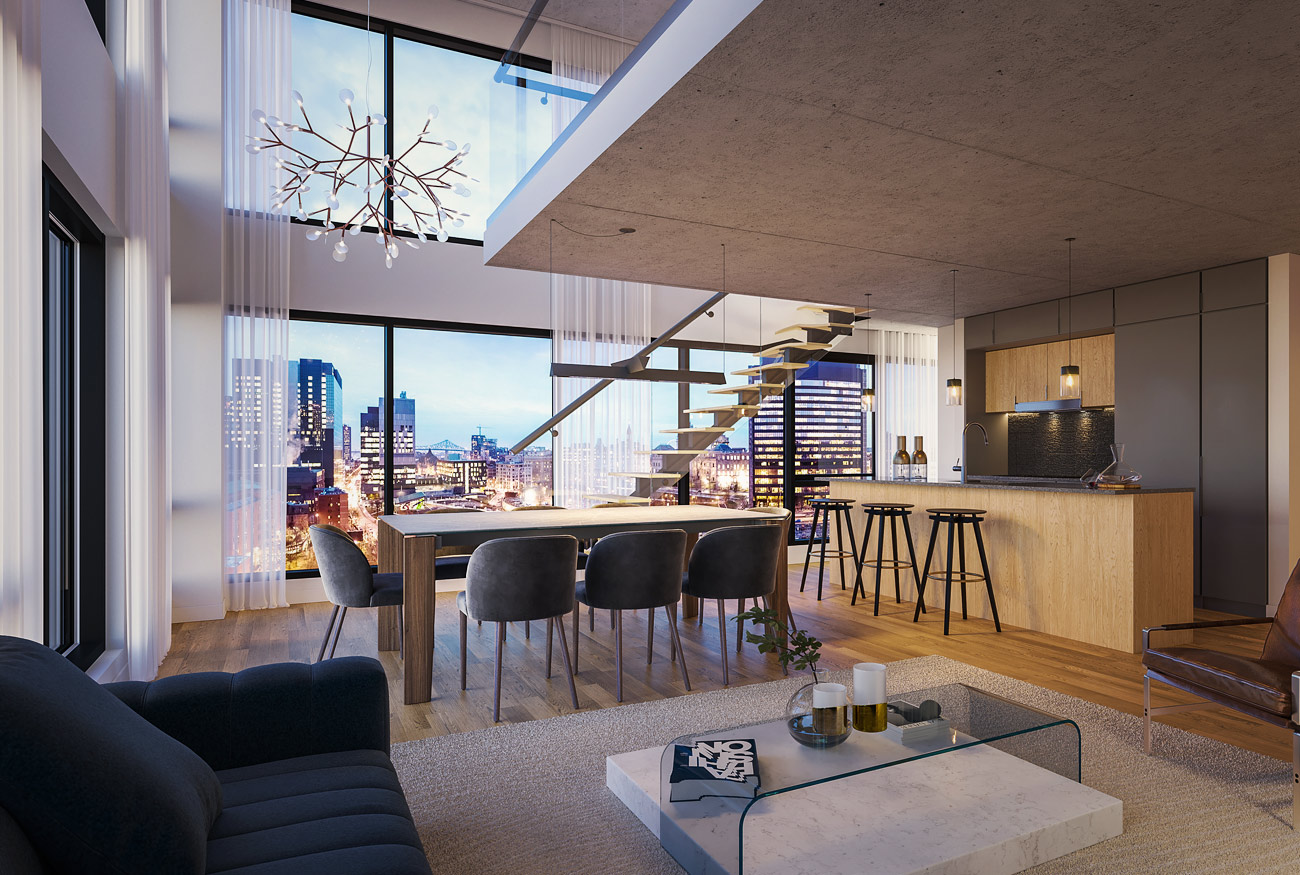 one viger penthouse