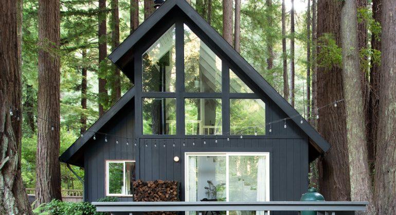 maison PLOW cabane en forme de A