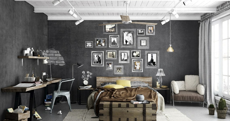 1000 nuances de gris. Black Bedroom Furniture Sets. Home Design Ideas