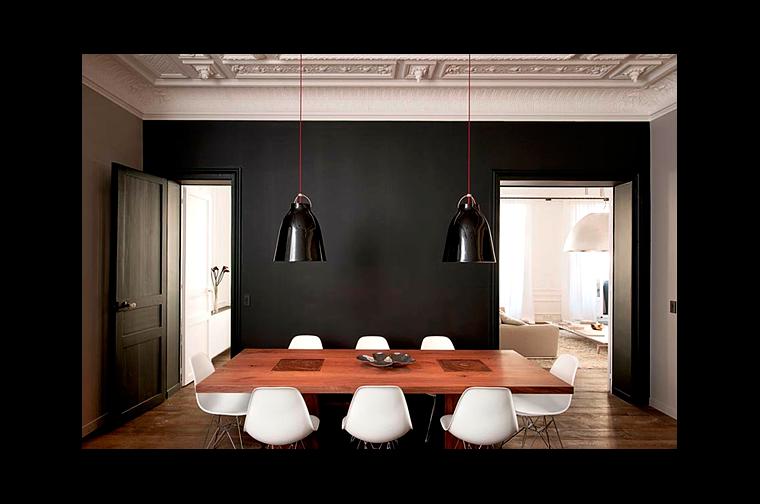 Cuisine et mur noir montreal guide condo for Mur noir cuisine