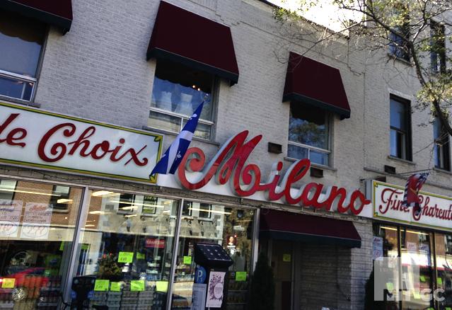 Une épicerie avec une réputation bien établie, Milano.