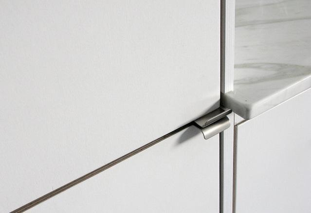 les portes des armoires de cuisine