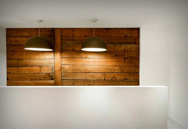 le mur de bois