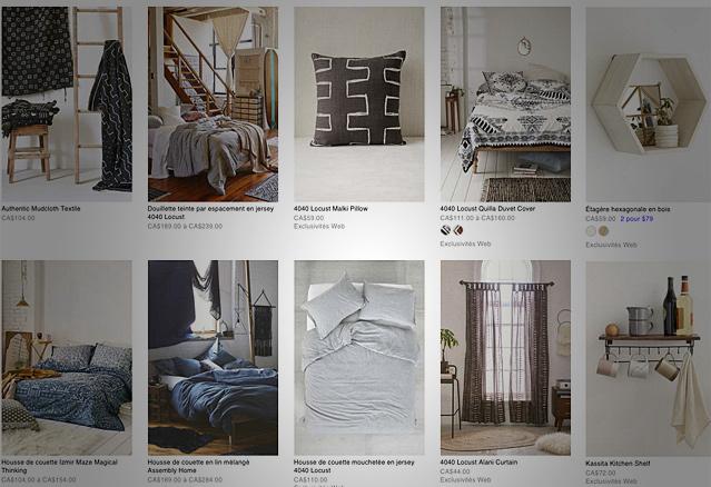 Six merveilles de urban outfitters acheter en ligne - Ikea achat en ligne ...
