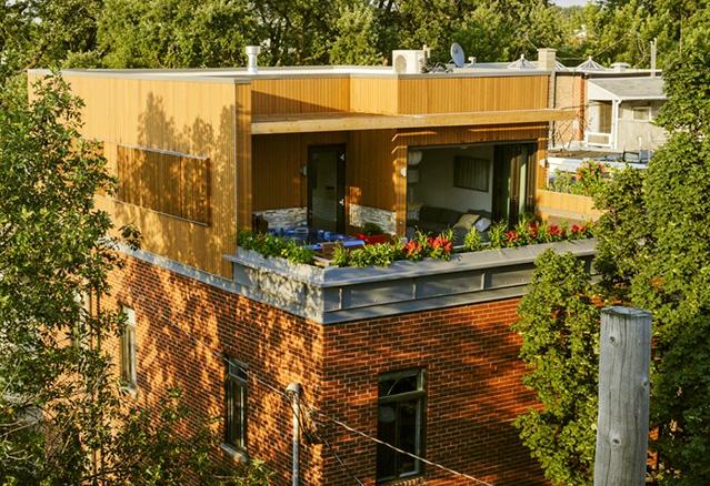 4 projets sur les toits de montr al montreal guide condo. Black Bedroom Furniture Sets. Home Design Ideas