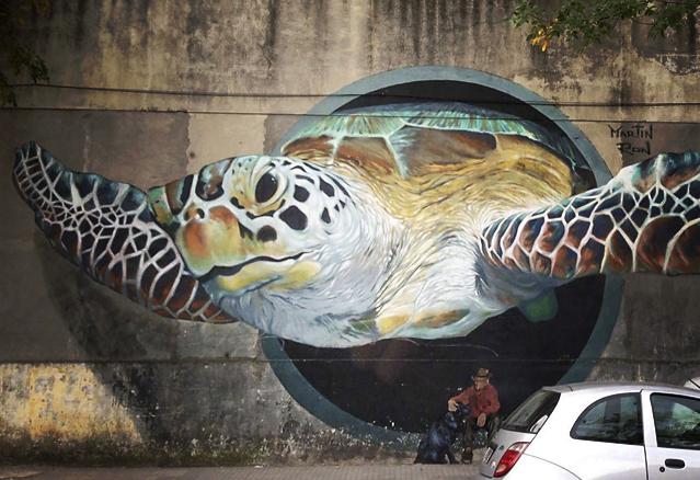 8 oeuvres de street art incroyables