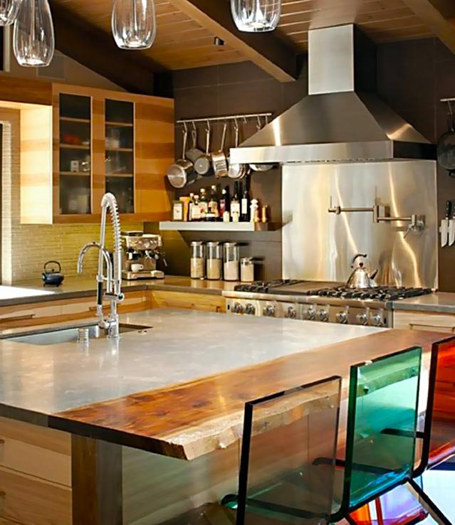 Comptoir de cuisine couleur image sur le design maison - Comptoir cuisine montreal ...