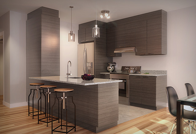 Condos lesp rance abordables et distingu s montreal for Meubles newell montreal