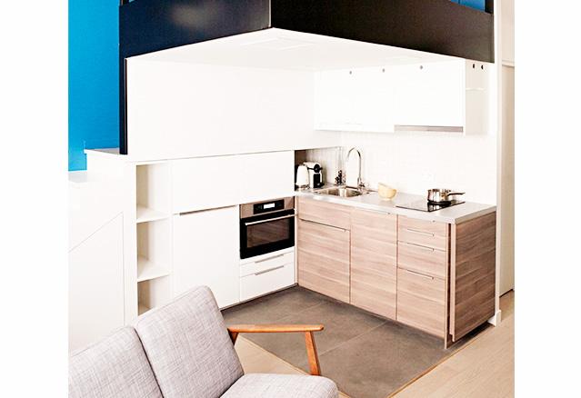7 mini cuisines contemporaines. Black Bedroom Furniture Sets. Home Design Ideas