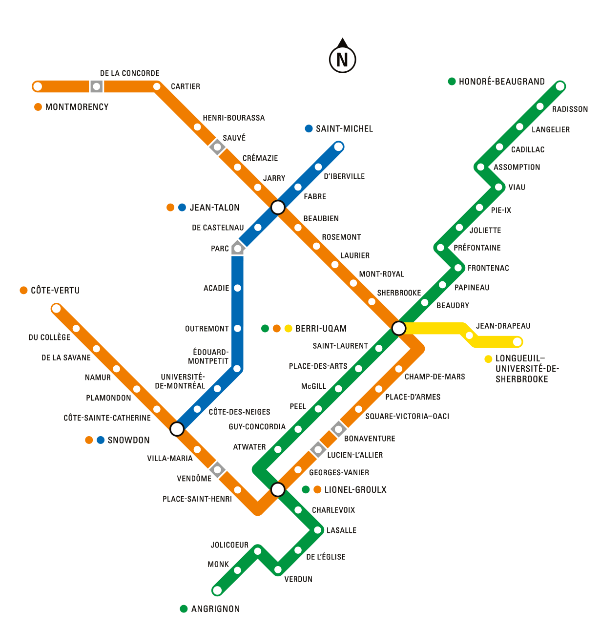 Metro montreal carte interactive STM